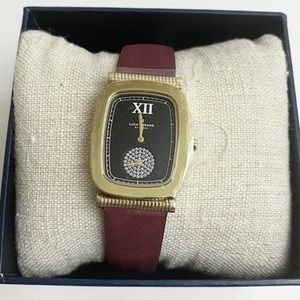 Lucky Brand Laurel Berry Leather Watch